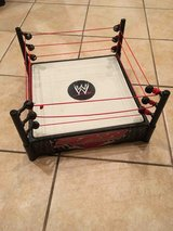 WWE RAW wrestling ring in Naperville, Illinois