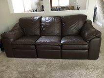1 leather couch and 1 loveseat-Great condition in Roseville, California
