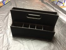 Leather IKEA Office Organizer in Glendale Heights, Illinois