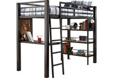 Loft beds (Rooms to Go: Louie Gray) in Fort Drum, New York