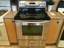 KitchenAid Stainless Smooth Top Range - USED in Fort Lewis, Washington