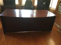 Large office Desk, filing cabinet in Wilmington, North Carolina