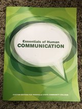 Essentials of Human Communications - Nashville State 9780205771295 in Pleasant View, Tennessee