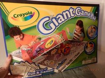 Giant Crayola Game Pad  Ages 3+ in Joliet, Illinois