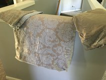 Duvet cover, bed skirt and pillow case set in Naperville, Illinois