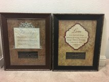 2 framed quotes in Camp Pendleton, California