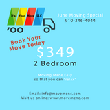 **Affordable Moving Company** June Special in Cherry Point, North Carolina
