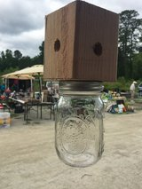 Mason Jar Carpenter Bee Traps in Camp Lejeune, North Carolina