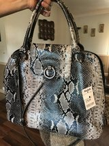 Snakeskin purse in Fort Polk, Louisiana