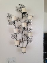 Decorative wall mounted candle holder in San Clemente, California