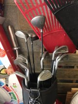 Older golf clubs in Fort Campbell, Kentucky