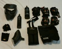 Lot of Paintball Equipment in Fort Benning, Georgia