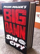 Big Damn Sin City! Collected works of Sin City in one big graphic novel by Frank Miller in San Diego, California