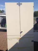 Tall cabinets with file drawers - Have 2 available in Ramstein, Germany