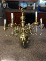 Chandelier repurpose it for a outdoor patio Light in Clarksville, Tennessee