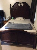 Bed frame in Fort Irwin, California