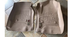 Weathertech front floor mats for GMC Chevy Trucks 01142 and 01039 in Clarksville, Tennessee