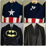Captain America and Batman hoodie Jackets in San Clemente, California