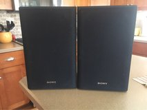Sony Bookshelf Speakers in Yorkville, Illinois
