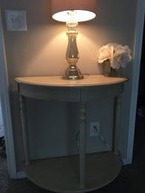 2 cream side tables in Fort Lewis, Washington
