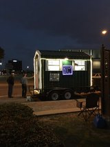 Very nice concession stand built the first part of December mounted on 14 foot trailer in Fort Polk, Louisiana
