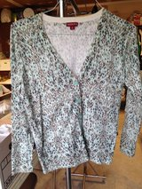 Grey/Black/Teal top by Merona - L in Naperville, Illinois