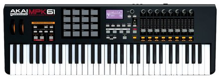 Akai Professional MPK61 USB/MIDI Keyboard Controller in Fort Campbell, Kentucky