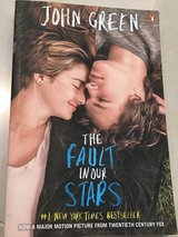 The Fault in our Stars paperback in Okinawa, Japan