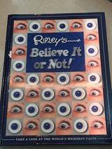 Ripley's Believe It or Not hardcover in Okinawa, Japan