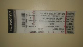 Muse and 30 Seconds to Mars ticket in Murfreesboro, Tennessee