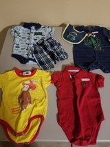 Boys 6 and 6-9 month summer bundle in Bolingbrook, Illinois