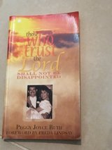 Those Who Trust the Lord Shall not be Disappointed paperback in Okinawa, Japan