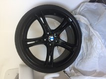 Set of BMW OEM 20 inch rims five point lug with Pirelli 225/35/R20 tires in Ramstein, Germany