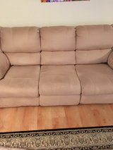 DUAL RECLINER SOFA/Price Reduction/Would Like Gone in Quantico, Virginia