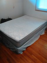 Queen Size Bed (Mattress and Box spring) in Kansas City, Missouri
