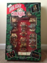 Christmas Holiday Carousel 6 Figures NEW in box in Byron, Georgia