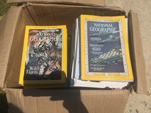 National Geographic magazines from 70s-90s in Cherry Point, North Carolina