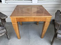 End table solid oak in Wilmington, North Carolina