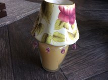 Jar candle with ceramic shade in Yorkville, Illinois