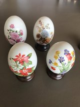 Flower Avon eggs - set of 4 in Fort Campbell, Kentucky