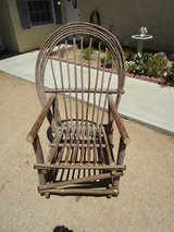 Handcrafted Willow Chair in Yucca Valley, California