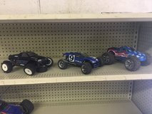 Adult RC cars (all 3 for $100)  and has a box of parts in Fort Polk, Louisiana