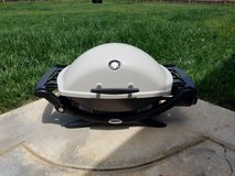 Weber Q 2200 Portable Propane Grill w/ 2 Stands and 2 Covers in Fort Campbell, Kentucky