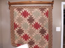 Primitive/Country Shelf/Quilt Rack With Quilt in Camp Lejeune, North Carolina