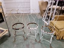 (2) Vintage Bistro Ice Cream Parlor Chairs Needs TLC in Naperville, Illinois