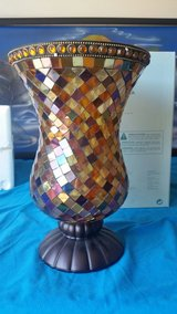 Partylite Global Fusion Large Hurricane Mosaic Candle Holder in Fort Bragg, North Carolina