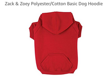 Unused Basic Small Dog Hoodie in Yucca Valley, California