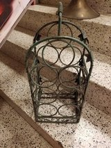 Ornate Faux Painted 7 bottle Wine Rack in Naperville, Illinois