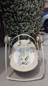 Baby Swing (battery operated) in Oceanside, California