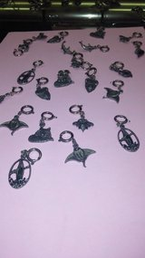 Pewter charms. Make necklaces, bracelets etc in Yucca Valley, California